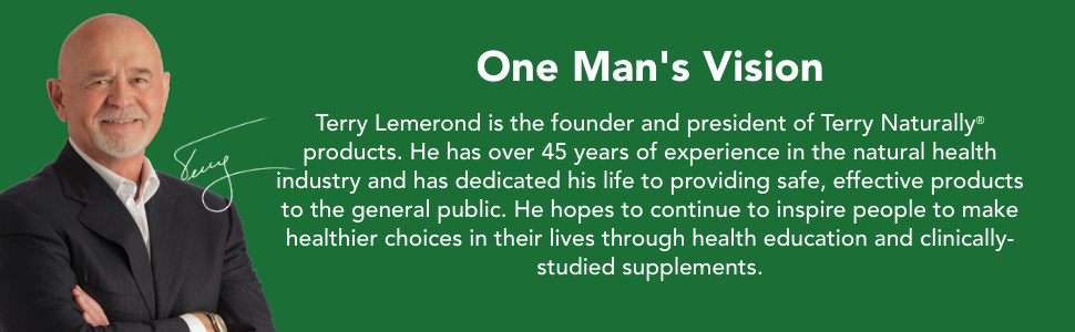 One Mans Vision. Terry Lemerond, founder of Terry Naturally.