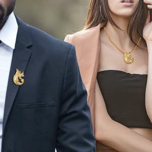 Fox jewelry can be worn by men and women