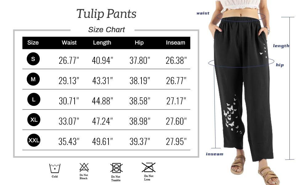 tulip pants