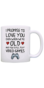 Love You When You're Old Mug