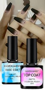 matte top coat and base coat no wipe top coat gel nail polish base coat