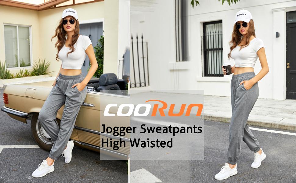 COOrun Baggy Sweatpants for Women