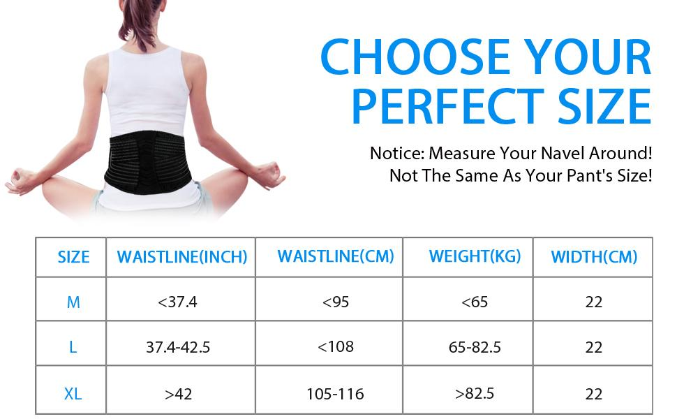 The Lumbar Supports-Need to Measure Your unique figure