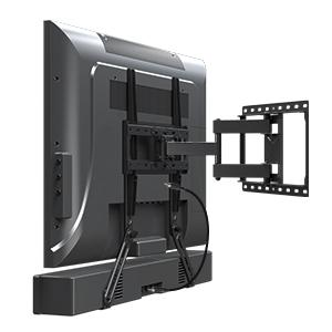 INSTALL WITH TV WALL MOUNT