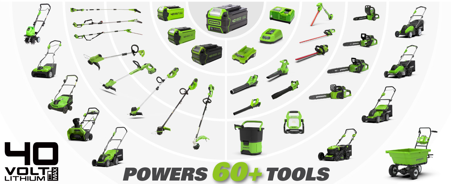 One Batter 60+ Tools