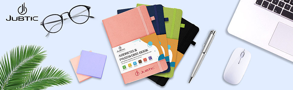 Address amp;amp; Password Journal with Tabs
