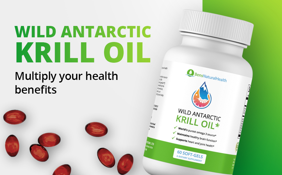 Wild Antarctic Krill Oil