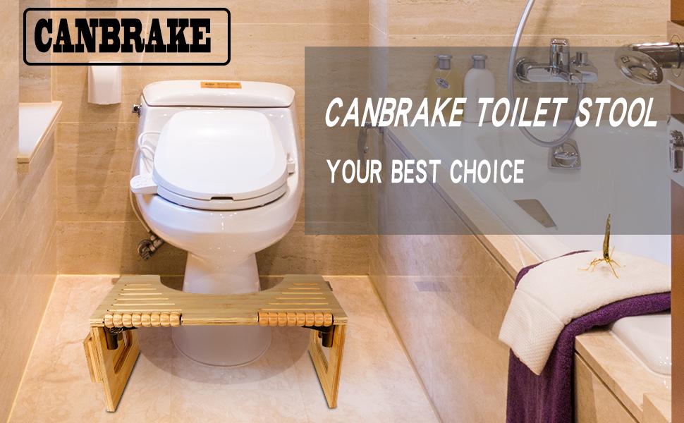 canbrake toilet stool
