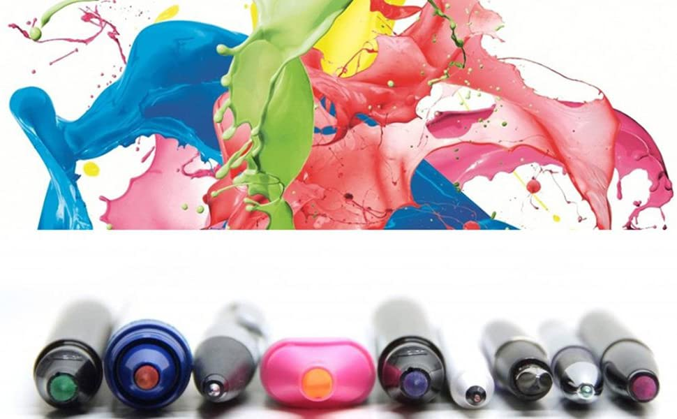 German Inks for Vibrant Colors