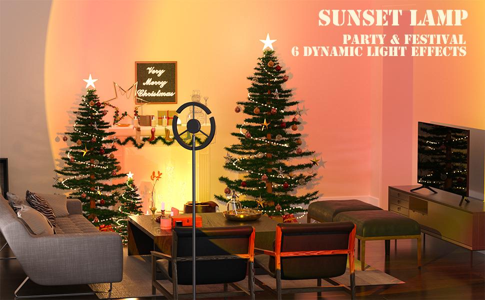 sunset lamp for christmas