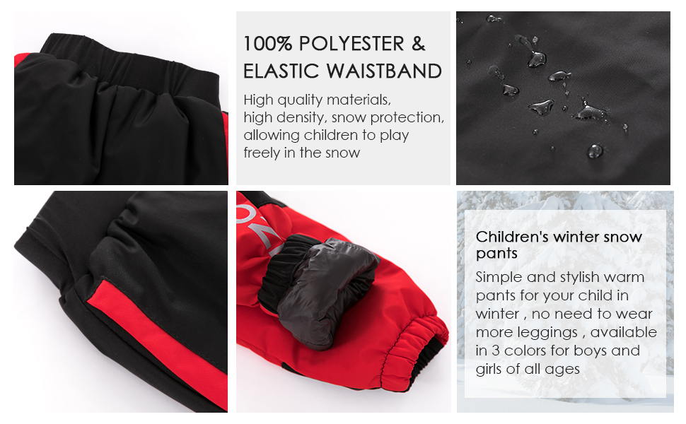 waterproof pants boys