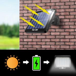 Outdoor solar light ,LED solar wall light,motion sensor light solar