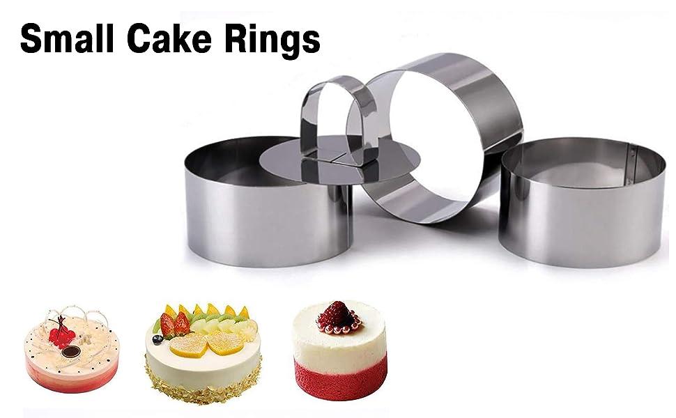 Small Cake Rings