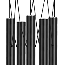 The upper aluminum tube of sympathy wind chime