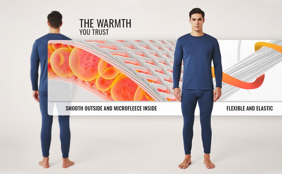 THE WARMTH YOU TRUST - LAPASA THERMAL BASE LAYER MEN