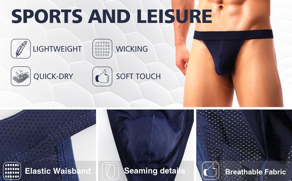 mens g string thong underwear sexy mesh t back low rise minimal elastiv waisband breathable briefs