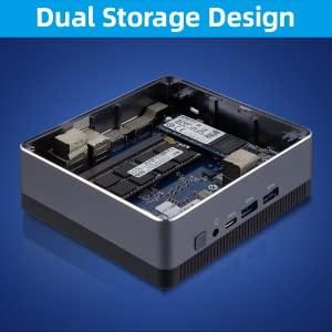 Dual Storage Design