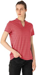BGOWATU Women's Sleeve Golf Polo Shirts