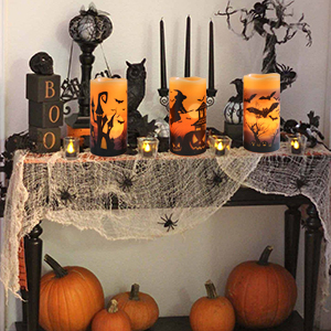 Halloween battery flicker LED candles