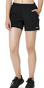 black shorts for women