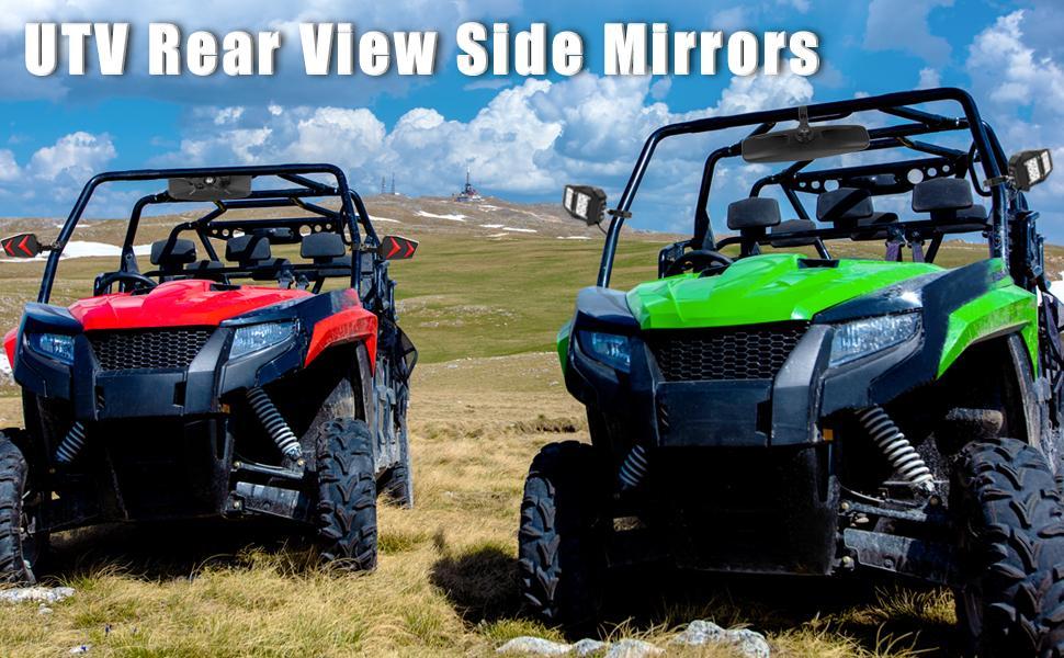 UTV Rear View Mirrors