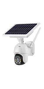 Solar PTZ Camera