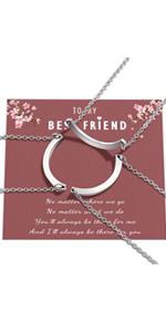 Best Friend Friendship Necklaces for 3