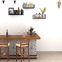 Wall Shelves for Living Room