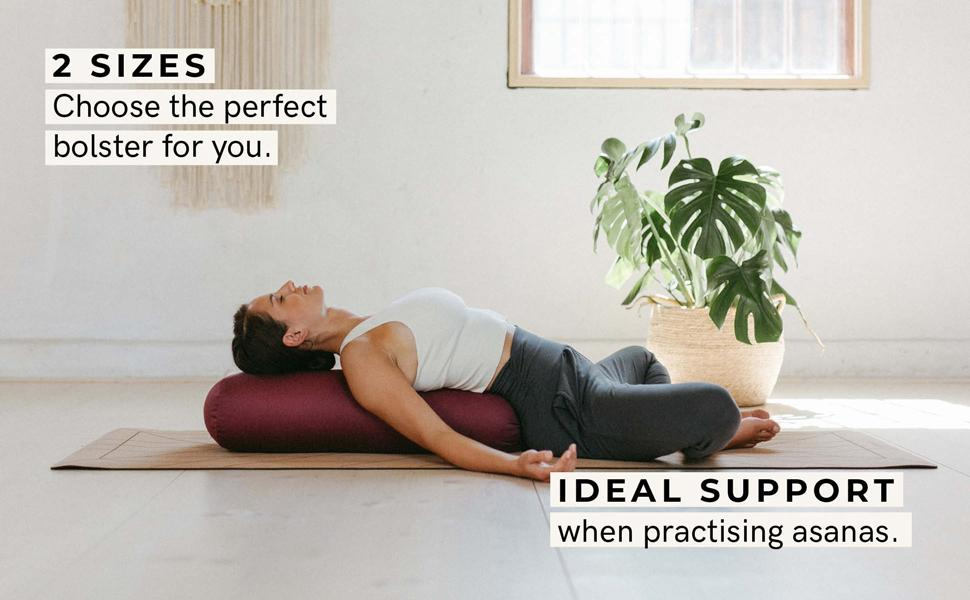 yoga bolster