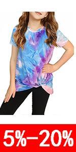 tie dye print shirt