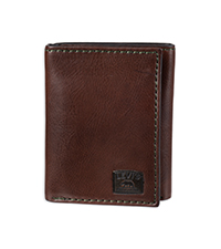 levi leather trifold wallet rfid