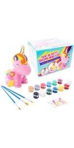ceramica hucha pinta tu propia hucha manualidades DIY regalos niñas 4 5 6 7 8 9 10 11 cumpleaños