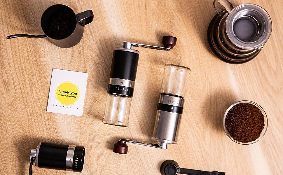 ingeware manual coffee grinder