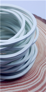 white Rubber Bands
