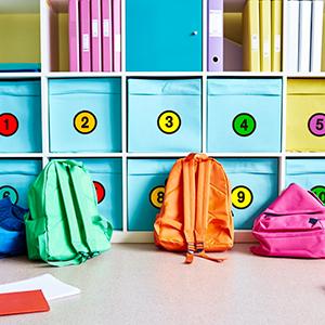 Line-up Spots Floor Number Decals Spots Markers for Classroom Kindergarten School Decoration
