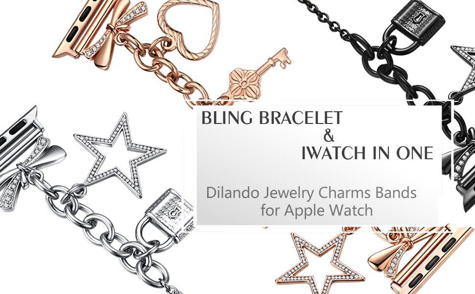 charm apple watch bracelet