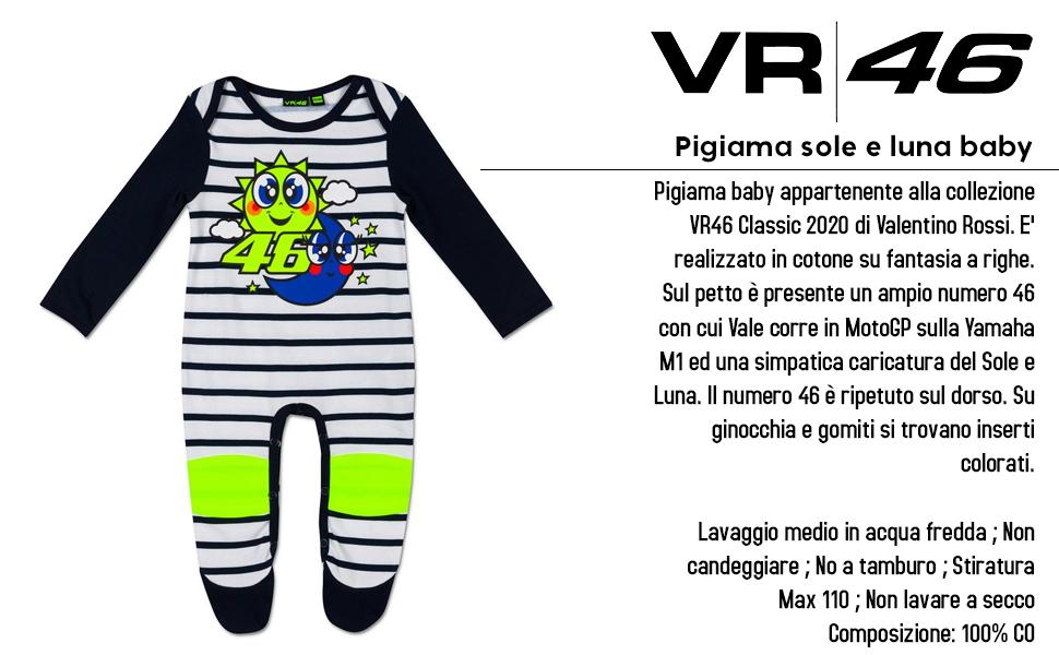 Valentino Rossi Colección Vr46 Classic Camiseta, Niños