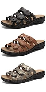 Classic Leather Sandals for women