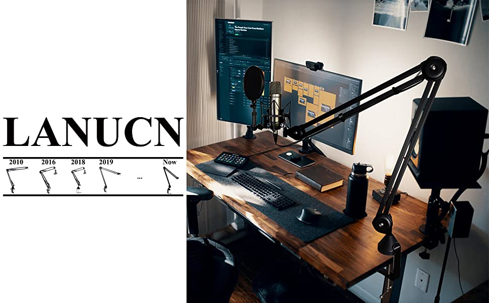LANUCN Boom Arm