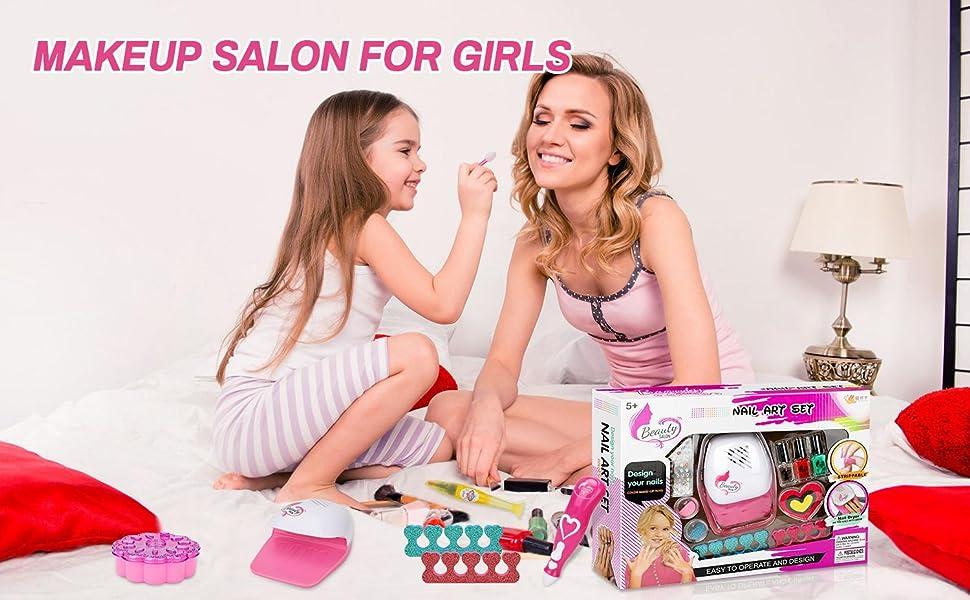 makeup salon for girls