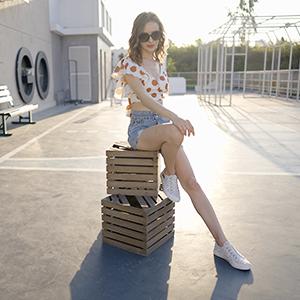 Fashion sneakers Zebra