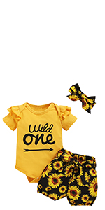 Baby Girls Wild One Outfit