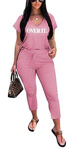 2 Pieces Outfit for Women