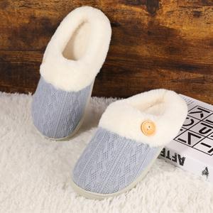 blue house slipper