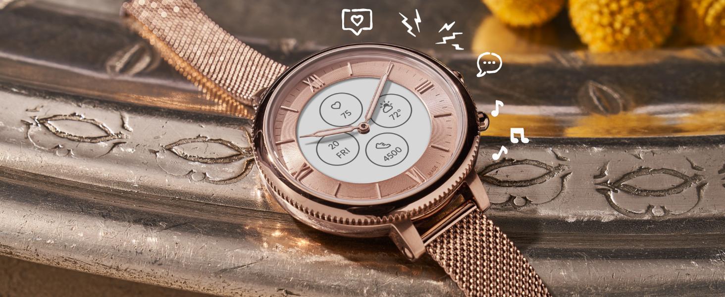 Fossil Hybrid Smartwatch HR Features