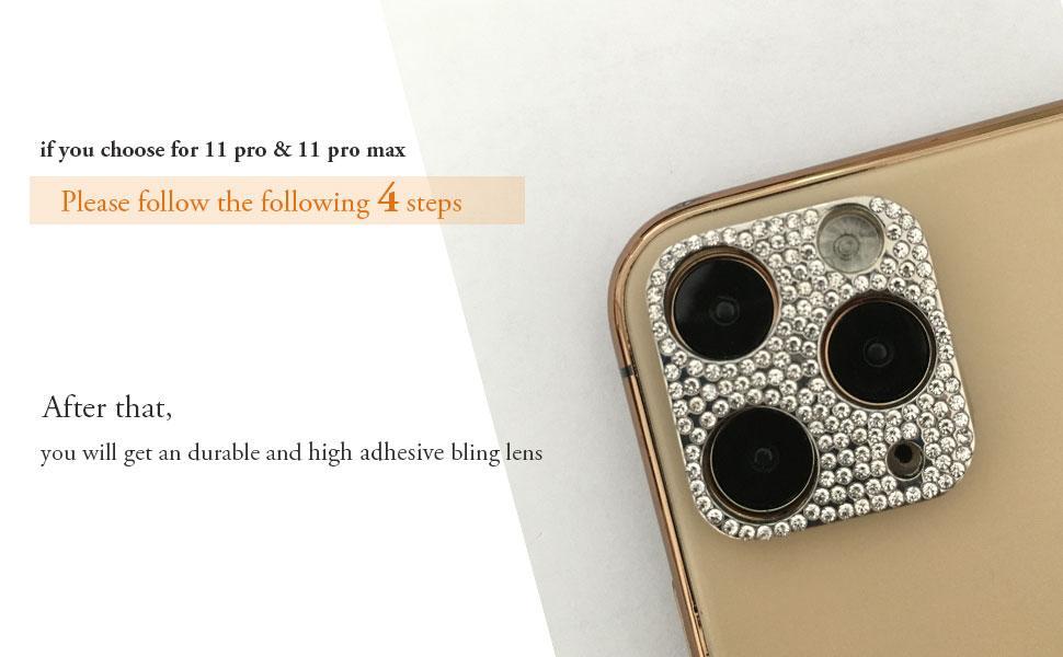 bling-lens-camera-protector-iPhone-11 12