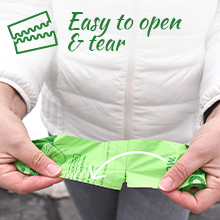 heart tafiti must haves green bio waste bagsonboard recycled case  newspaper plastic odor
