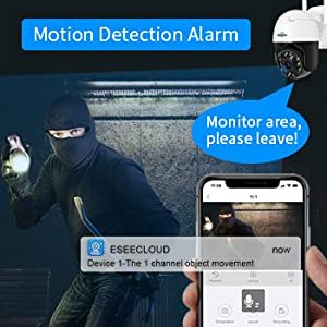Auto Tracking & Alarm
