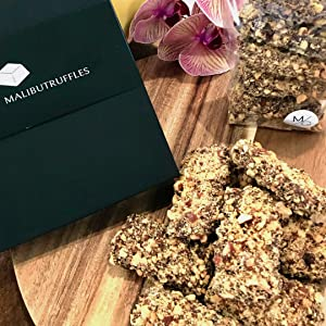 English Toffee Sticks and Gourmet Treats
