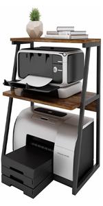 3层A桌面打印机架